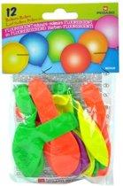 Pegaso Ballonnen Neon 12 Stuks