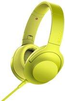 Sony h.ear MDR-100AAP - Hi-Res audio - Over-ear koptelefoon - Geel