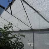 STUNTPRIJS - Schaduwdoek wit 5 x 1,8 m