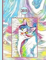 2019 Planner; Cat