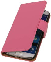 Samsung Galaxy S5 mini G800F Roze | bookstyle / book case/ wallet case Hoes  | WN™