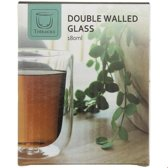Theeglazen Dubbelwandig - Dubbelwandig glas koffie 180 ml -Dubbelwandig Espresso Glas - (set van 4)