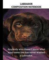 Labrador Composition Notebook