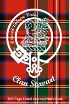 Clan Stewart 200 Page Lined Journal/Notebook