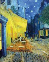 Vincent Van Gogh Cafe Terrace at Night - Dot Grid Journal
