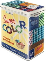 Tin Box L - Super Color Power Detergent