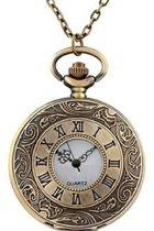 Horloge- Zak ketting horloge- Brons- Romeins