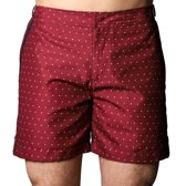 Zwemshort Tampa Dots Red - 31