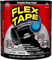 Flex tape – Waterbestendige Dikke Rubberen Tape – Waterdicht Rubber montagetape voor o.a. Badkamer, Boot