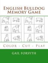 English Bulldog Memory Game