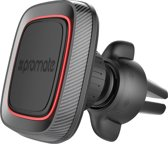 Promate AirGrip Magnetische Antislip Autohouder voor Smartphones (Rood)