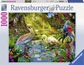 Ravensburger puzzel Vogels in paradijs - Legpuzzel - 1000 stukjes