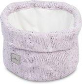 Mandje Confetti knit vintage pink
