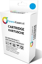 Canon CLI-521 CLI 521 2934B001  alternatief - compatible inkt cartridge voor Canon CLI 521 cyaan wit Label Toners-kopen_nl