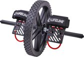 Lifeline Buikspierwiel Power Wheel - Zwart - Buikspiertrainer