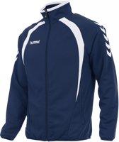 hummel Team Top Full Zip Trainingsjack Unisex - Blauw