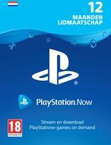 PlayStation™Now: 12 Maanden Abonnement - NL