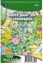 Sluis Garden Bonte Puin En Steenhopen