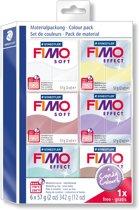 Fimo Soft set - colour pack Candy Colours 5+1 8023 25