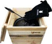 Valhal Outdoor houten kist - 35x35x31cm - VH.BOX