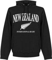 Nieuw Zeeland Rugby Hoodie - Zwart - M