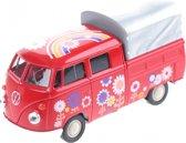 Toi-toys Miniatuur Volkswagen Pick-up Rood