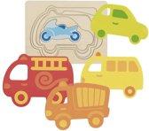 Goki Layer puzzle vehicles