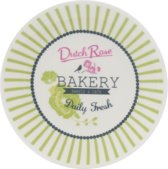Dutch Rose Petit four Bakery - Lime - Ø 12 cm - 2 stuks