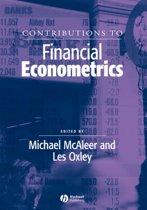 Contributions to Financial Econometrics