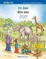 Im Zoo. Kinderbuch Deutsch-Italienisch