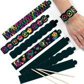 Kraskunst-armbandjes  (12 stuks per verpakking)