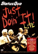 Status Quo - Just Doin' It: 40 Years (Live) (Dvd+Cd)