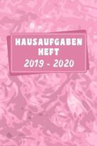 Hausaufgabenheft 2019 2020: M�dchen Grundschule - A5 Sch�lerkalender 2019/2020 - 150 Seiten August 2019 bis Juli 2020 - Schulplaner 2019-2020 Kale