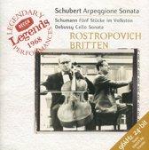 Legends 1968 - Schubert, Debussy, etc/ Rostropovich, Britten