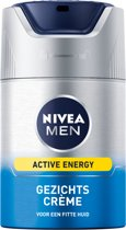 NIVEA MEN Gezichtscrème Active Energy  - 50 ml