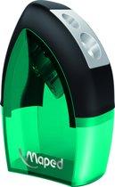 Tonic Metal potloodslijper 2-gaats - groen