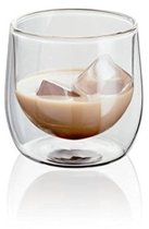 Horwood Judge - Dubbelwandig Glas Laag - Set van 2 Stuks - 250 ml - Transparant