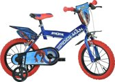 Dino Spider-man Homecoming - Fiets - Jongens - Blauw - 14 Inch