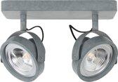 Zuiver Spot Light Dice-2 Led Galvanised - Spotjes - Grijs