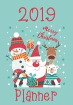 2019 Merry christmas planner: Preparation for party of chistian day and merry christmas organizer, Gift List, Calendar, Budget Party Planner, Bucket