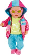 BABY born® Play&Fun Deluxe Biker Outfit