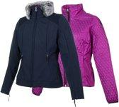 Icepeak Jas - Maat 38  - Vrouwen - blauw/roze