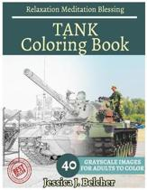 Tank Coloring Book for Adults Relaxation Meditation Blessing