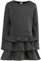 Zeeman - Meisjes jurk - zwart - maat 122/128