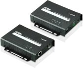 Aten VE802 AV transmitter & receiver Zwart