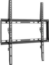 LogiLink BP0036 flat panel muur steun 139,7 cm (55'') Zwart, Roestvrijstaal