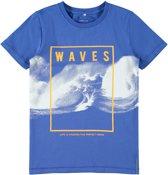Name it Jongens T-shirt - Strong Blue - Maat 110