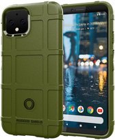 Google Pixel 4 Anti-Shock TPU Backcover Groen
