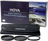 Hoya Digital Filter Kit II 58mm Pol-Circ./NDX8/HMC UV (C)