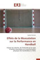 Effets de la Musculation Sur La Performance En Handball